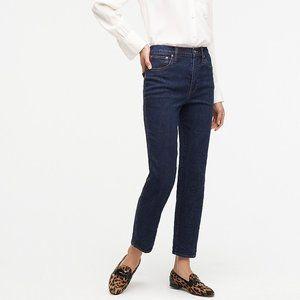 J. Crew Straight Leg Crop High Rise Jeans AB384